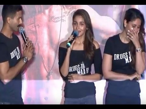 Alia Bhatt ABUSES in front of media at Udta Punjab TRAILER LAUNCH | UNCUT VIDEO