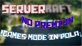 SERVER NO PREMIUN | SKY WARS PUENTES Y MAS | GAMES MADE IN POLA | MINECRAFT 1.7.2, 1.7.10 Y 1.8.0