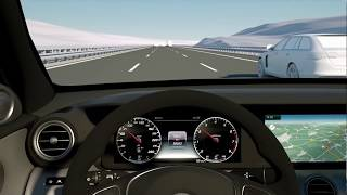 New E-class. Next generation driver assistance systems for Mercedes E-class w213