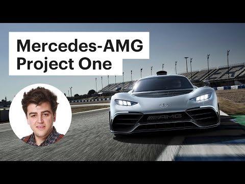 С 0 до 200 км/ч за 6 секунд - новый Мерседес АМГ / Обзор Mercedes-AMG Project One
