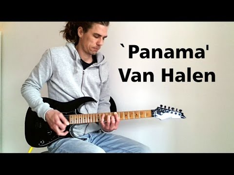 Panama - Van Halen - Intro Guitar Cover