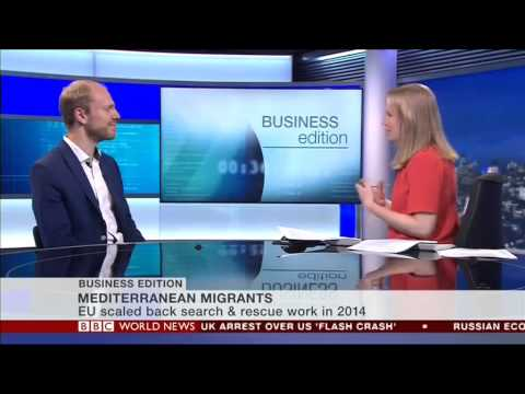 Alexander Betts talks to BBC World News Business Edition, 21 April 2015