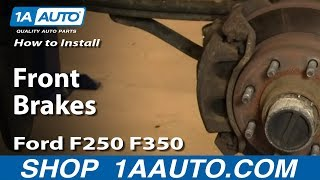 How to Install Replace Frontkes Ford F250 F350 Super Duty 00-04 1AAuto