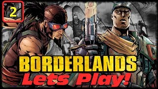 Borderlands GOTY Lets Play With MorninAfterKill & Gothalion Ep 2! Jamming Out With Clams Out!