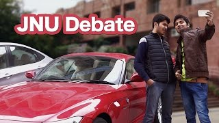Nazar Battu - JNU Debate - Is the left right? or the right left? Ask Dalveer & Satbeer