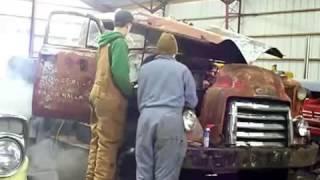 Anchor truck. Modifiyesi