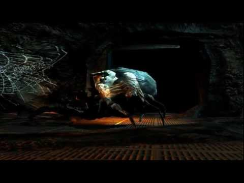Spider! Beastiality Action -doom 3 -part 9(gameplay Commentary) video