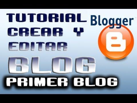Como crear un blog en blogger 2014 PRINCIPIANTES |Parte 0||