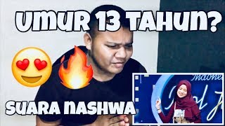 Suara Nashwa Bikin Rizky Pingsan Audition 2 Indonesian Idol Junior 2018 Reaction