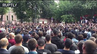 download lagu Live: Moscow Muslims Gather In Front Of Myanmar Embassy gratis