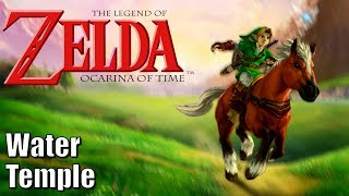 The Legend of Zelda Ocarina of Time - Part 18 - Water Temple - 100% Collectibles