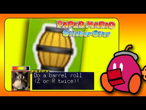 Paper Mario Sticker Star: HOW TO GET THE BARREL STICKER