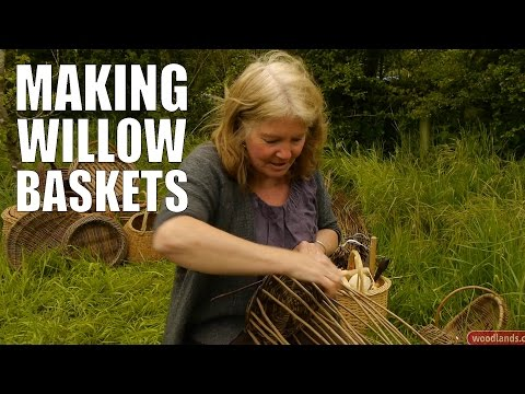 Making Willow Baskets