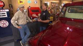 Glass Cleaning & Coating on My Classic Car with Dennis Gage & Mike Phillips