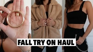 TRENDY FALL 2018 TRY ON HAUL