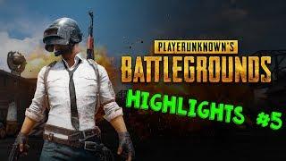 PUBG Highlights #6(PlayerUnknown's Battlegrounds)