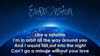 Lena - Satellite (with lyrics)