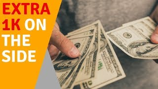 how to make an EXTRA $1,000 EVERY MONTH on the side [without Amazon FBA Arbitrage]