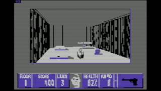 C64  - Wolfenstein 3D