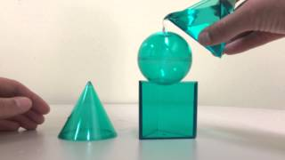 Cones and Spheres [ACT 3]: How Many Cones Does It Take To Fill a Sphere?