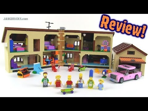 LEGO The Simpsons House 71006 set review!