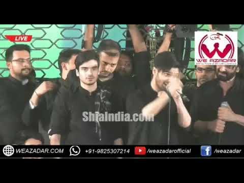 Live Nadeem Sarwar Ali Shanawar Ali Jee Ek Tarikhi Naara Lagaya 3 Day Hyderabad India Ayyam E Fatema