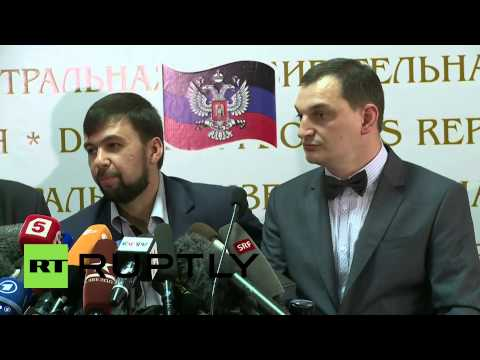 Ukraine: 89.7 percent voted for 'self-rule' in Donetsk region