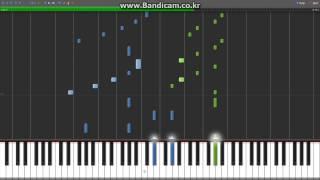 [Synthesia][MIDI] DJ Okawari - Flower Dance