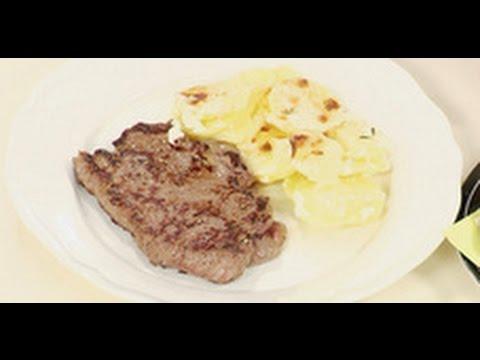 Стейк из говядины / рецепт от шеф-повара / Илья Лазерсон