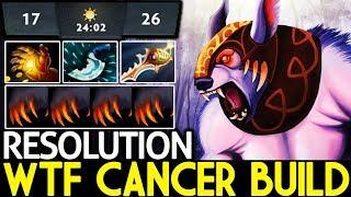 Resolution [Ursa] Brutal Damage Rapier WTF Cancer Build 7.21 Dota 2