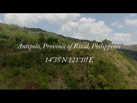 Motorbike riding around Antipolo Philippines Drone phantom 4