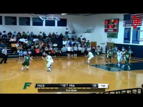 Boys Basketball- FACS Crusaders vs. Franklin Road Academy Panthers