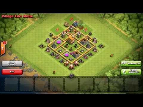 Town hall 6 defense layout