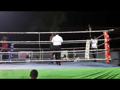 Ghana Kickboxing.  Isaac Aikins(19)