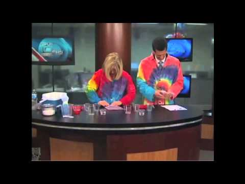 cool strawberry dna science experiment for children to do