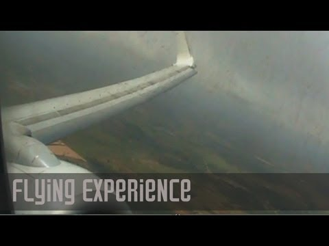 Flying Experience in Monsoon | In-Flight Turbulence Over India