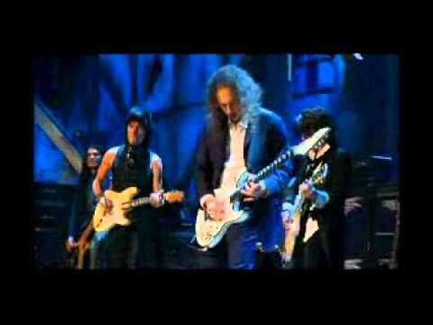 Jeff Beck, Jimmy Page, Ron Wood, Joe Perry, Flea and Metallica - The Train Kept A-Rollin´.AVI