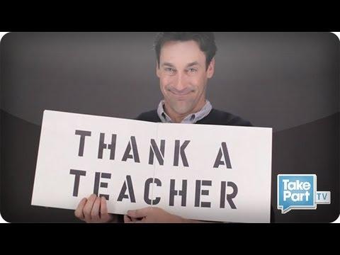 Thank a Teacher | TakePart