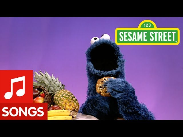 Sesame Street A Cookie is a Sometime Food