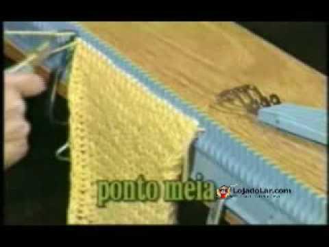 Tricotar Máquina de Fazer Tricô (Parte 1)