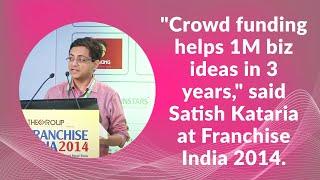 Crowd funding helps 1M biz ideas in 3
