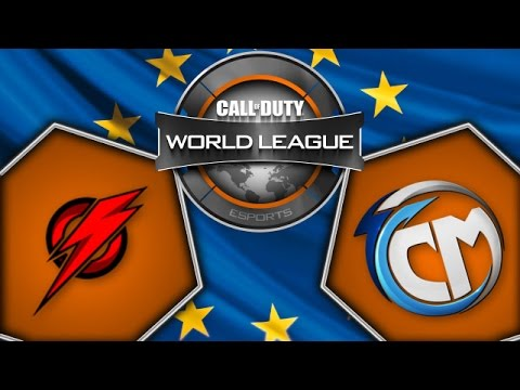 PuLse vs TCM - Game 2 - CoD World League - Day 10 - Europe - Cast FR