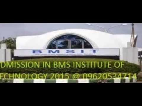 DIRECT ADMISSION IN BMS INSTITUTE OF TECHNOLOGY BMSIT 2015 THROUGH MANAGEMENT QUOTA