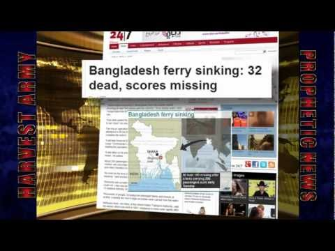 BANGLADESH SHIP & FERRY COLLIDE, SINK 250 Feared-Dead Mar.13,2012: Prediction