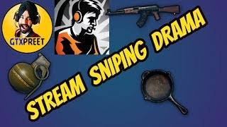 Stream Sniping DRAMA of GTXPreet and DYNAMO    CaptainMD