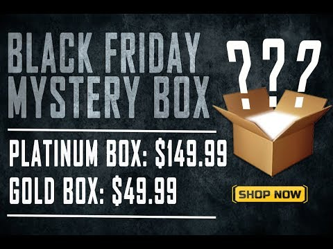 AIRSOFT MEGASTORE BLACK FRIDAY MYSTERY BOX   PLATINUM EDITION   I GOT LUCKY!!