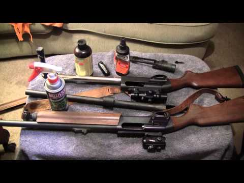 Remington 1187 Special Purpose before and after cleaning and disassembly