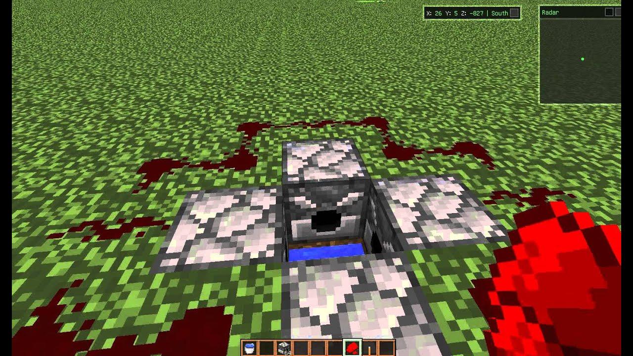 Механизмы# 1/Мини-батут в Minecraft/Creative/Обзор как сделать. - YouTube