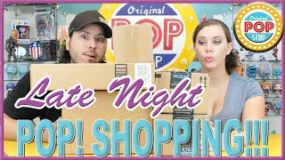 Late Night POP! Shopping #14 | UNBOXING Funko POP!s Power Rangers, Death Note, DBZ & MORE!!!