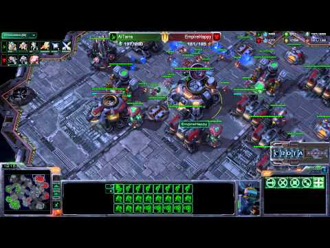 AiTarra (P) vs Empire Happy (T) - G3 - StarCraft 2 - SC2004